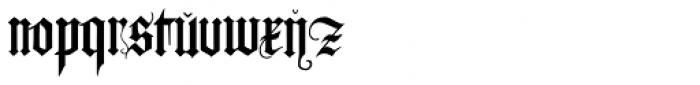 Albrecht Duerer Fraktur Pro Font LOWERCASE