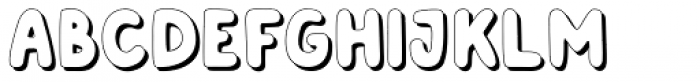 Albus Grand Shadow Font UPPERCASE