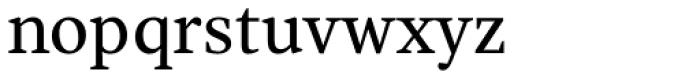 Alcala Font LOWERCASE