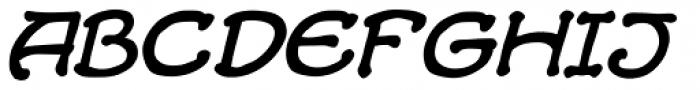 Alchemite Italic Font UPPERCASE