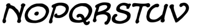 Alchemite Italic Font LOWERCASE