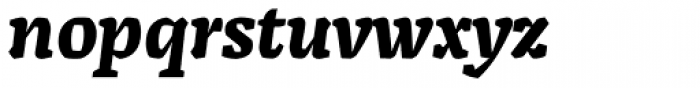 Alda Bold Italic Font LOWERCASE