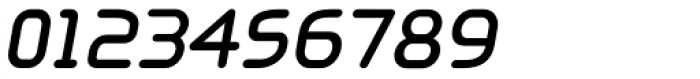Aldin Oblique DemiBold Font OTHER CHARS