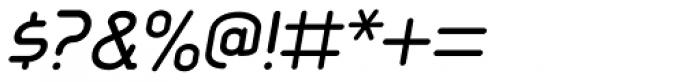 Aldin Oblique Font OTHER CHARS