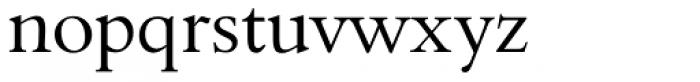 Aldine 401 BT Regular Font LOWERCASE