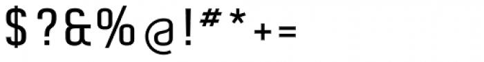 Aldo Pro Medium Font OTHER CHARS