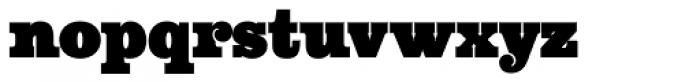 Aldogizio Black Font LOWERCASE