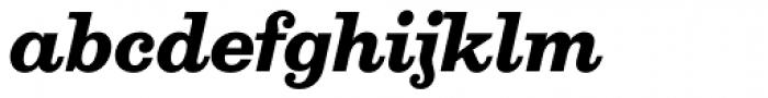 Aldogizio Bold Italic Font LOWERCASE