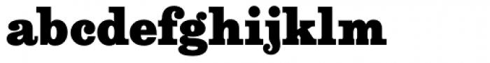 Aldogizio Heavy Font LOWERCASE
