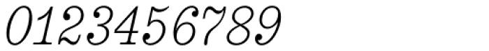 Aldogizio Light Italic Font OTHER CHARS