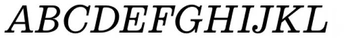 Aldogizio Medium Italic Font UPPERCASE