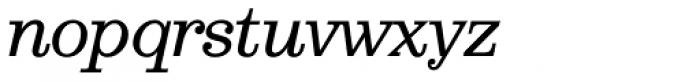 Aldogizio Medium Italic Font LOWERCASE