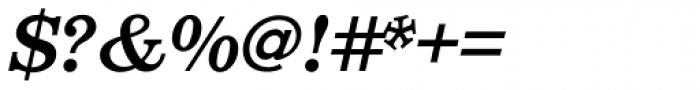 Aldogizio SemiBold Italic Font OTHER CHARS