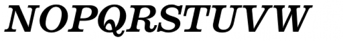 Aldogizio SemiBold Italic Font UPPERCASE