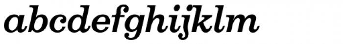 Aldogizio SemiBold Italic Font LOWERCASE