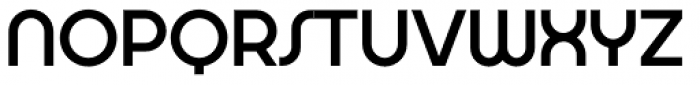 Aldrans Medium Alt Font UPPERCASE