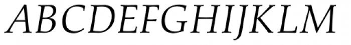 Aldus Italic Oldstyle Figures Font UPPERCASE
