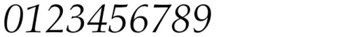 Aldus Italic Font OTHER CHARS