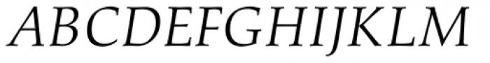 Aldus Italic Font UPPERCASE