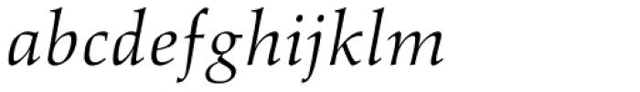 Aldus Italic Font LOWERCASE