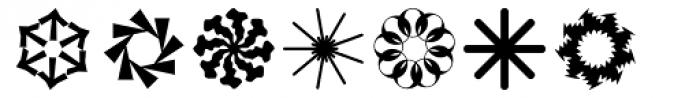 Ale Ornaments Rotato Font LOWERCASE