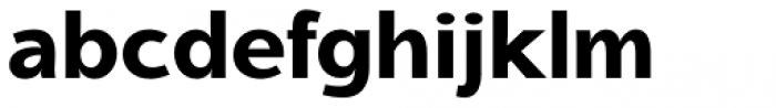 Aleante Sans Extra Bold Font LOWERCASE