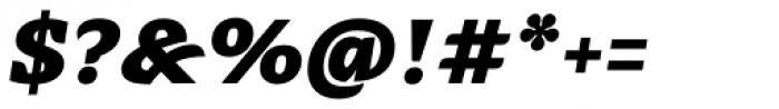 Alebrije Black Italic Font OTHER CHARS