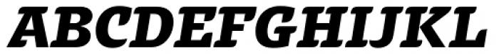 Alebrije Black Italic Font UPPERCASE