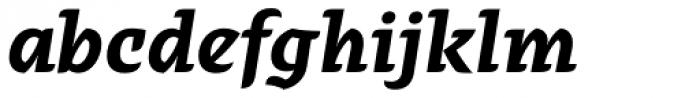 Alebrije Bold Italic Font LOWERCASE