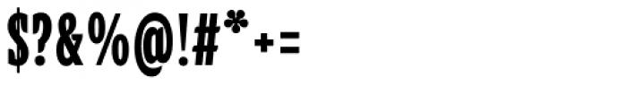 Alebrije Condensed Black Font OTHER CHARS