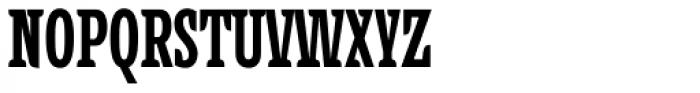 Alebrije Condensed Black Font UPPERCASE