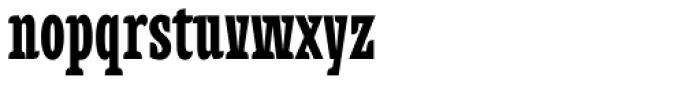 Alebrije Condensed Black Font LOWERCASE