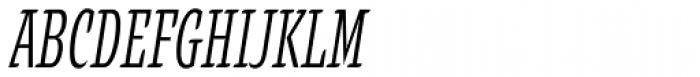 Alebrije Condensed Italic Font UPPERCASE