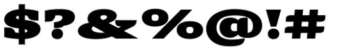 Alebrije Expanded Black Font OTHER CHARS