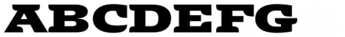 Alebrije Expanded Black Font UPPERCASE