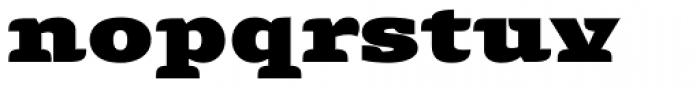 Alebrije Expanded Black Font LOWERCASE