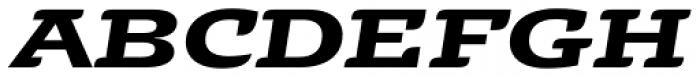 Alebrije Expanded Bold Italic Font UPPERCASE