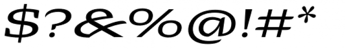 Alebrije Expanded Italic Font OTHER CHARS