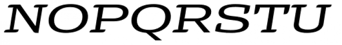 Alebrije Expanded Italic Font UPPERCASE