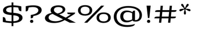 Alebrije Expanded Font OTHER CHARS