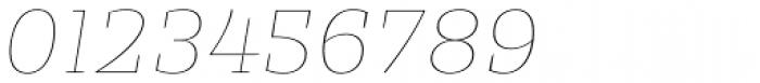 Alebrije Hairline Italic Font OTHER CHARS