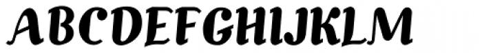 Alecko Plain Font UPPERCASE
