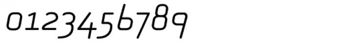 Alega Greek Light Italic Font OTHER CHARS