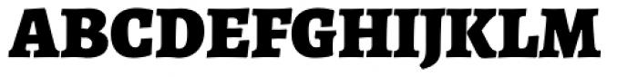 Alegreya ht Pro Black Font UPPERCASE