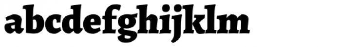 Alegreya ht Pro Black Font LOWERCASE