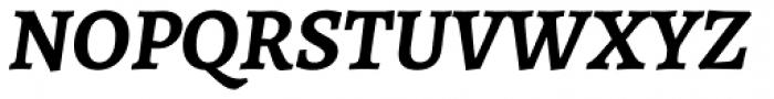 Alegreya ht Pro Bold Italic Font UPPERCASE