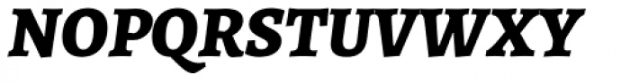 Alegreya ht Pro ExtraBold Italic Font UPPERCASE