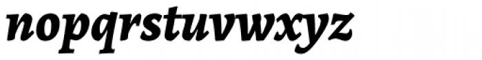 Alegreya ht Pro ExtraBold Italic Font LOWERCASE