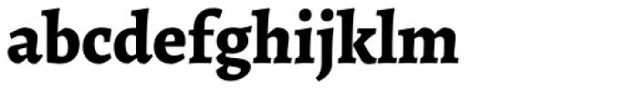 Alegreya ht Pro ExtraBold Font LOWERCASE