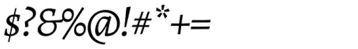 Alegreya ht Pro Italic Font OTHER CHARS